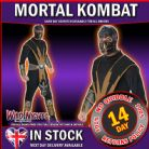 FANCY DERSS COSTUME ~ MENS MORTAL COMBAT SCORPION LG